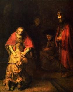 «Возвращение блудного сына» картина Рембрандта
