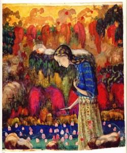 Иван Клюн (Клюнков) картины