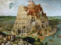 «Вавилонская башня» картина Питера Брейгеля Старшего