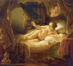 «Даная» картина Рембрандта