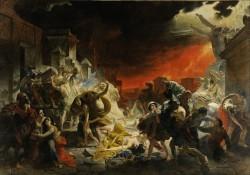 «Последний день Помпеи» картина Брюллова