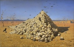 «Апофеоз войны» картина Верещагина