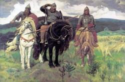 «Богатыри» картина Васнецова