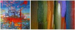 Абстрактные картины в интерьер