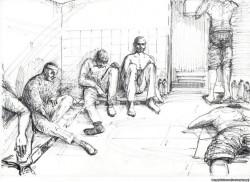 Как нарисовать Донецк. Уроки рисования карандашом поэтапно